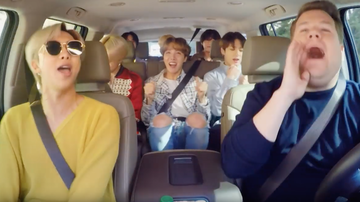 image for BTS Covers Bruno Mars, Leads a Dance Class & More During Carpool Karaoke