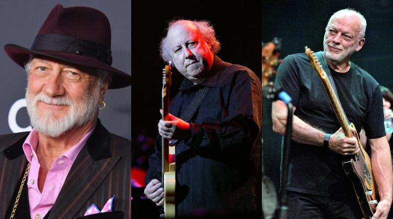 Mick Fleetwood, David Gilmour & More Perform At Peter Green Tribute Show