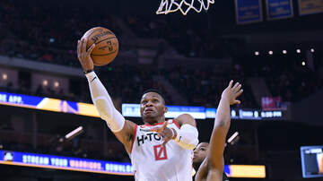 image for Westbrook and Harden Combine for 63 as Rockets Blow Out Grizz 140-112