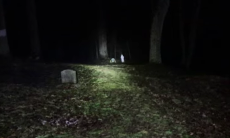 image for Ghost Hunters Visit Tennessee's Most Haunted Cemetery, Hear Child's Voice
