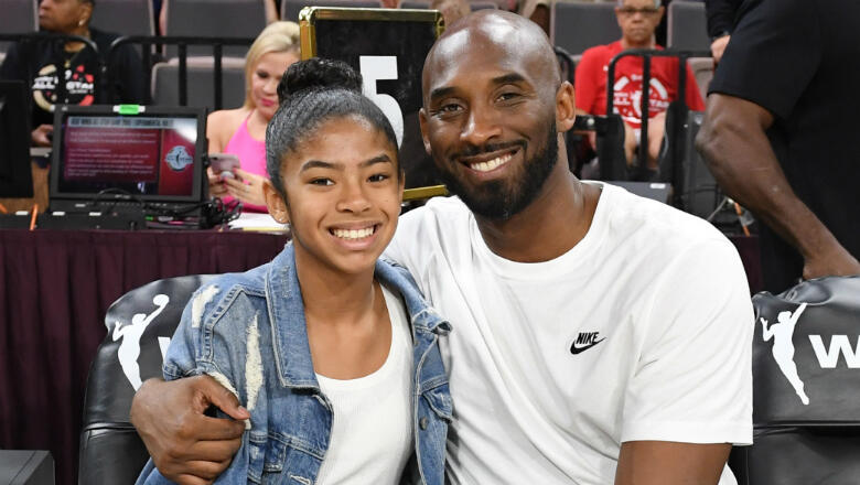 Kobe Bryant's Sister Sharia Washington Gets Tattoo In His & Gianna's Honor | iHeartRadio