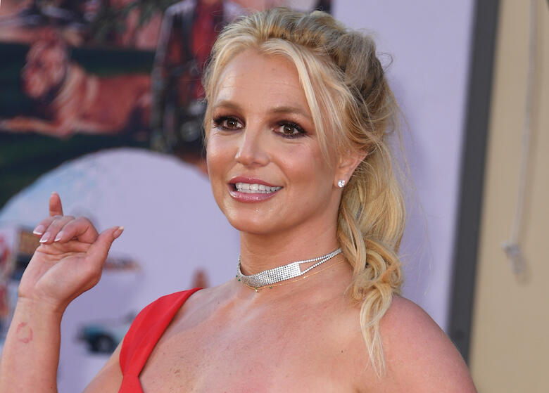 Britney Spears Shares Footage of the Exact Moment Her Foot Broke | iHeartRadio