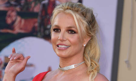 image for Britney Spears Shares Footage of the Exact Moment Her Foot Broke