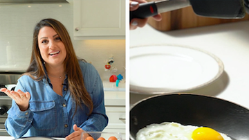image for Sisanie's Egg Flipping Hack Will Change Your Life: Watch