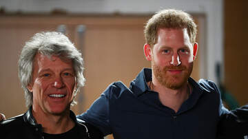 image for Prince Harry Recording A Song With Bon Jovi. Can You Believe It?