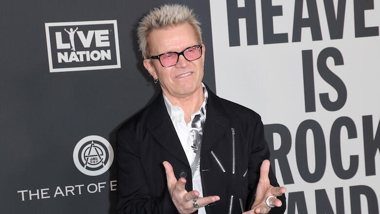 Billy Idol Is The Face Of NYC's New Anti-Idling Campaign | iHeartRadio