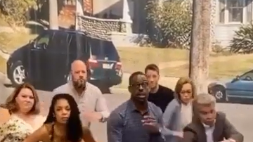 image for This Is Us Cast Nail Smeeze Dance On TikTok (VIDEO)