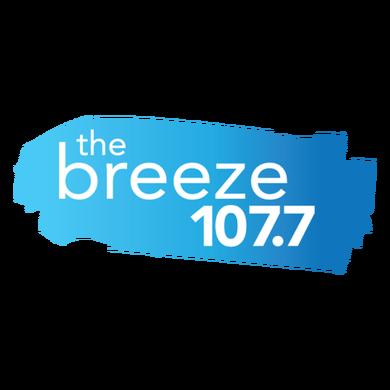 107.7 The Breeze logo