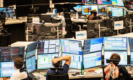 image for Dow Drops 350 Points As Wall Street Has Worst Week Since 2008