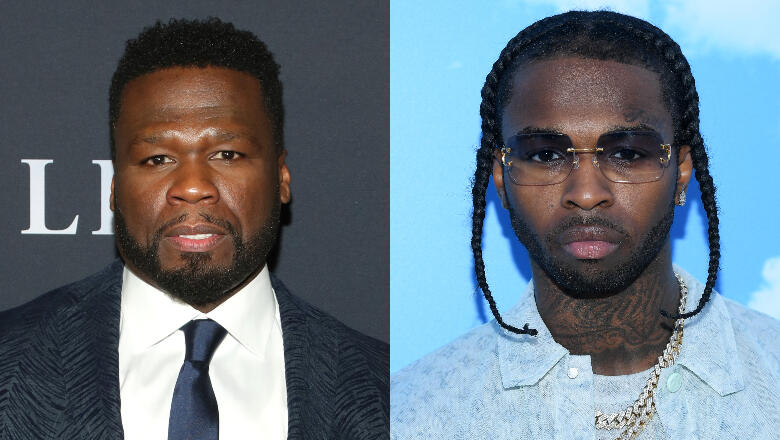 50 Cent Vows To Finish Pop Smoke's Album, Asks Celeb Friends To Help