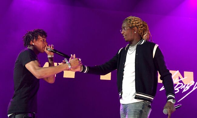 iHeartRadio Album Release Party With Lil Baby At The iHeartRadio Theater Los Angeles