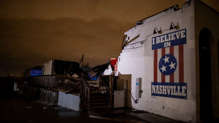 Country Music Community Reacts To Deadly Nashville Tornado