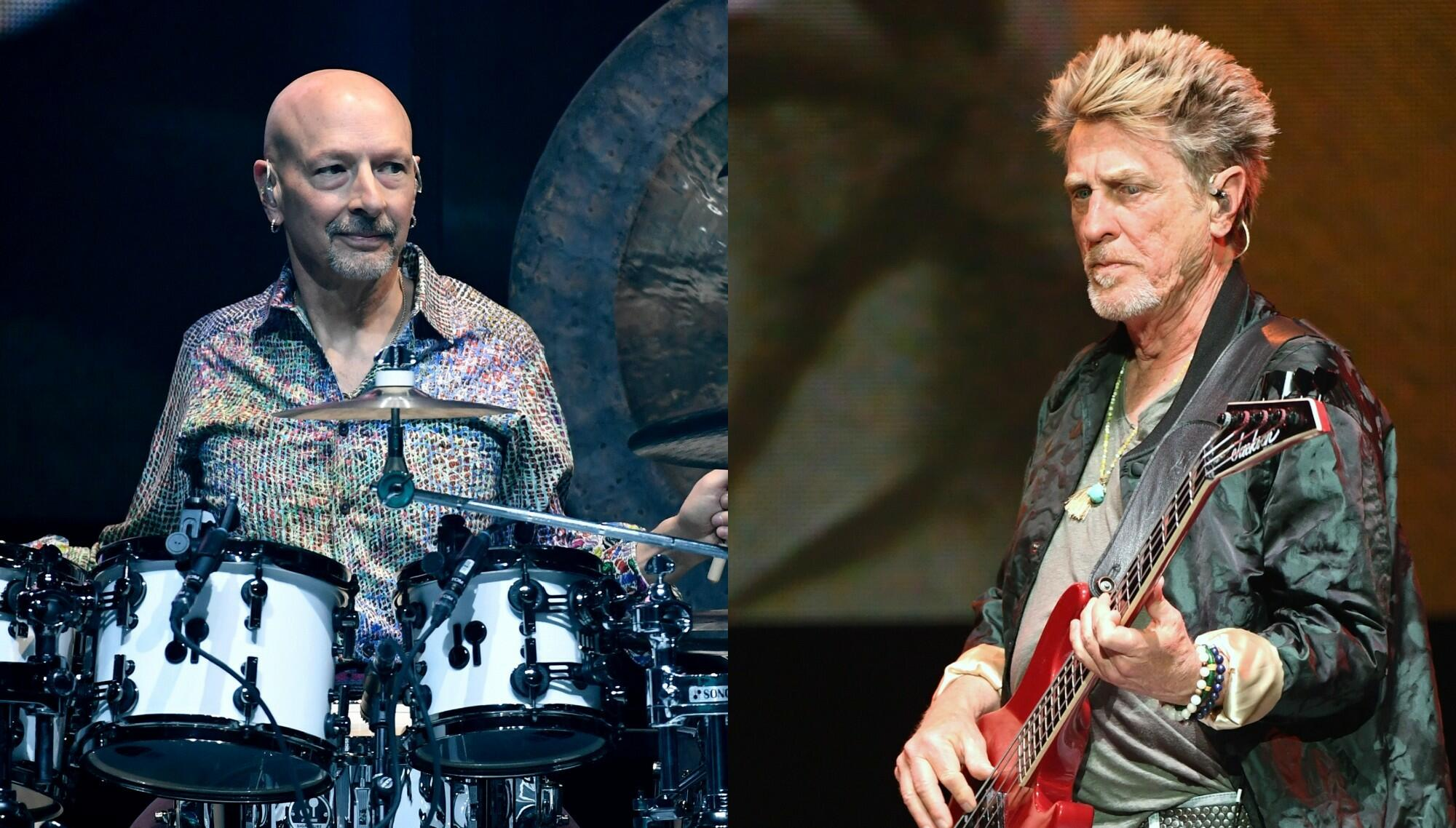 Journey Fires, Sues Bassist Ross Valory And Drummer Steve Smith