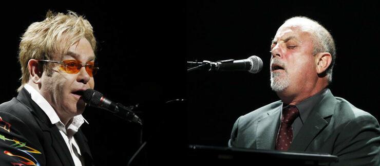 Billy Joel and Elton John in Concert