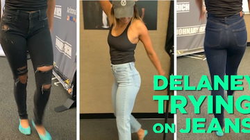 image for Delaney's Trying on JEANS!!