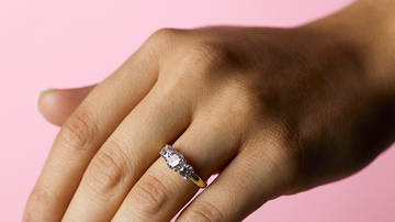 image for Woman Shows Off Engagement Ring But No One Can Get Past Her Nails