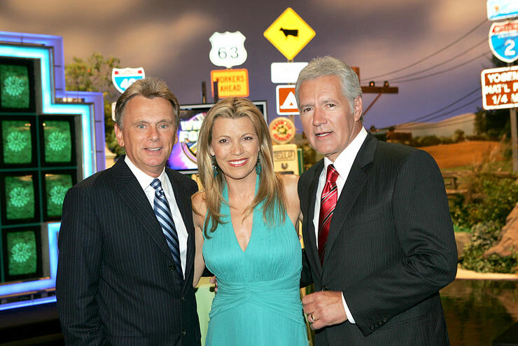 """""""Wheel of Fortune"""" and """"Jeopardy!"""" Celebrate the Switch to Sony HD with Alex Trebek, Vanna White and Pat Sajak"""