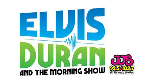 Listen to Elvis Duran and the Morning Show, Weekdays 6am-10am on 93.5/102.7  JJS!