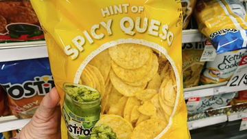 image for Food World: Tostitos Now Selling 'Spicy Queso' Flavored Chips