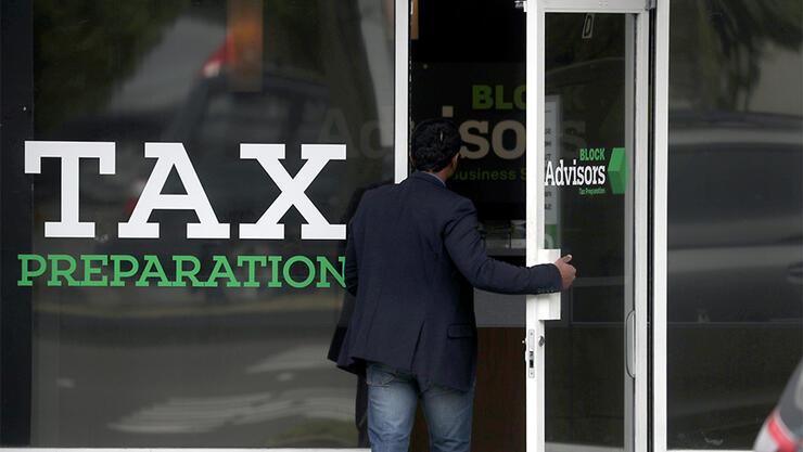 Americans File Their Returns On Tax Day 2019