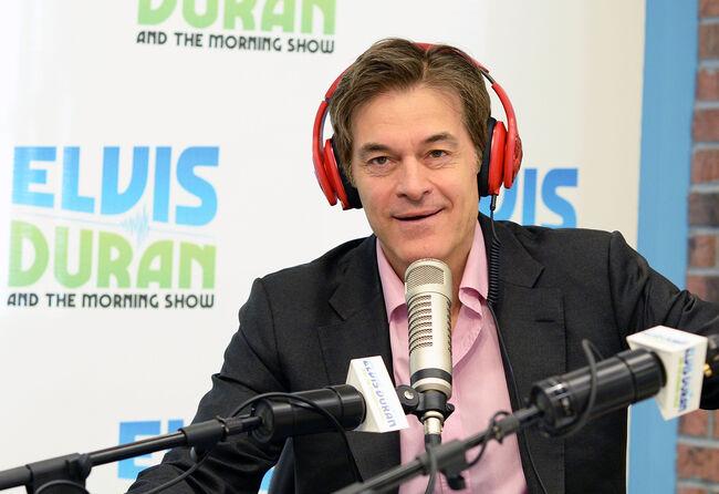 """Dr. Oz Visits """"The Elvis Duran Z100 Morning Show"""""""