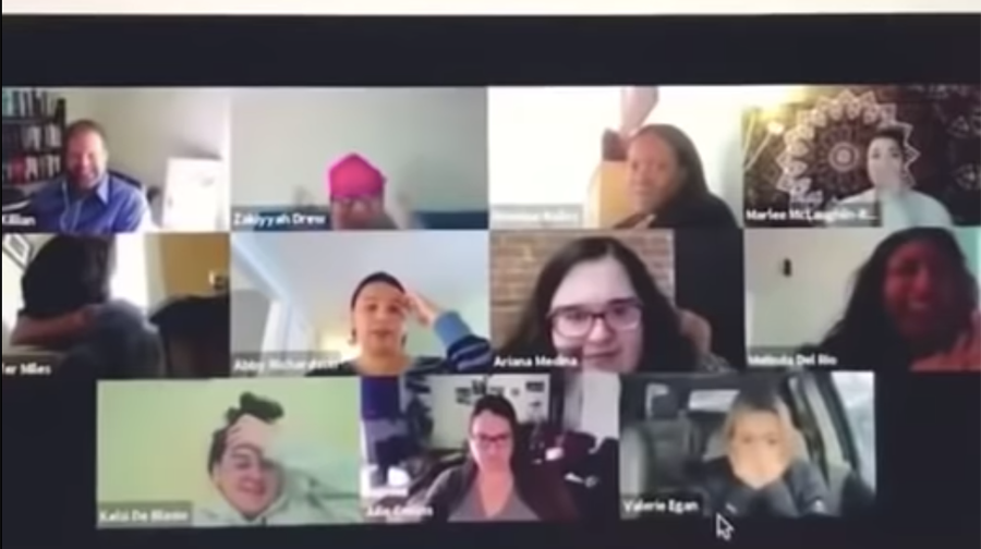Woman Forgets She S On Video Conference Uses Bathroom As Co Workers Watch Iheartradio