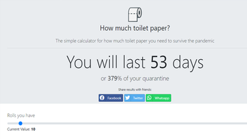 image for How Long Will Your Toilet Paper Stash Last? This Website Has the Answer