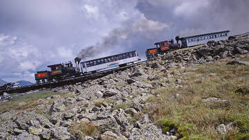 image for Train Used To Rescue Hiker Who Survived 200-Foot Fall From Mount Washington