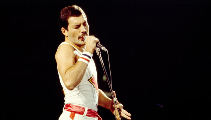 Queen Onstage At Byrne Arena