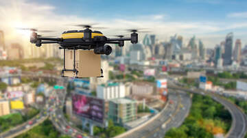 image for Guy Delivers Toilet Paper to His Friend Using Drone