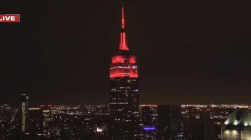 image for iHeartRadio, Z100 & Empire State Building Team Up For Music-To-Light Show