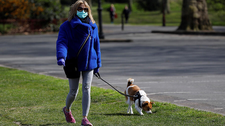 Residents Banned From Walking Dogs Amid Coronavirus Pandemic | iHeartRadio