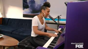 image for Alicia Keys Dedicates 'Underdog' To First Responders In Living Room Concert