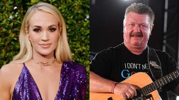 image for Carrie Underwood Shares Heartbreaking Reaction To Joe Diffie's Death
