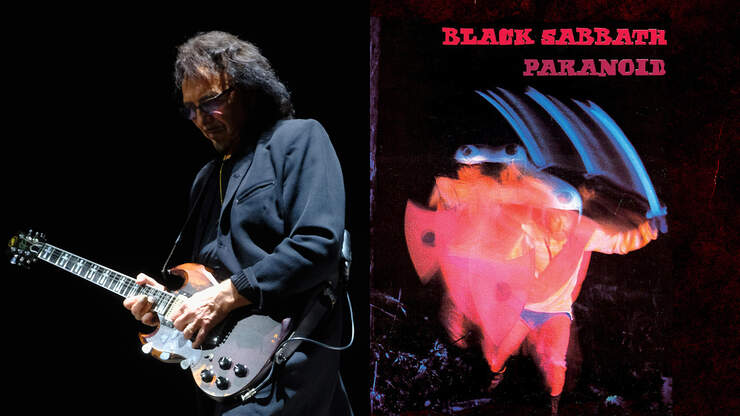 Tony Iommi Explains Meaning Behind Black Sabbath's 'Paranoid' Album Cover | 94.5 The Buzz