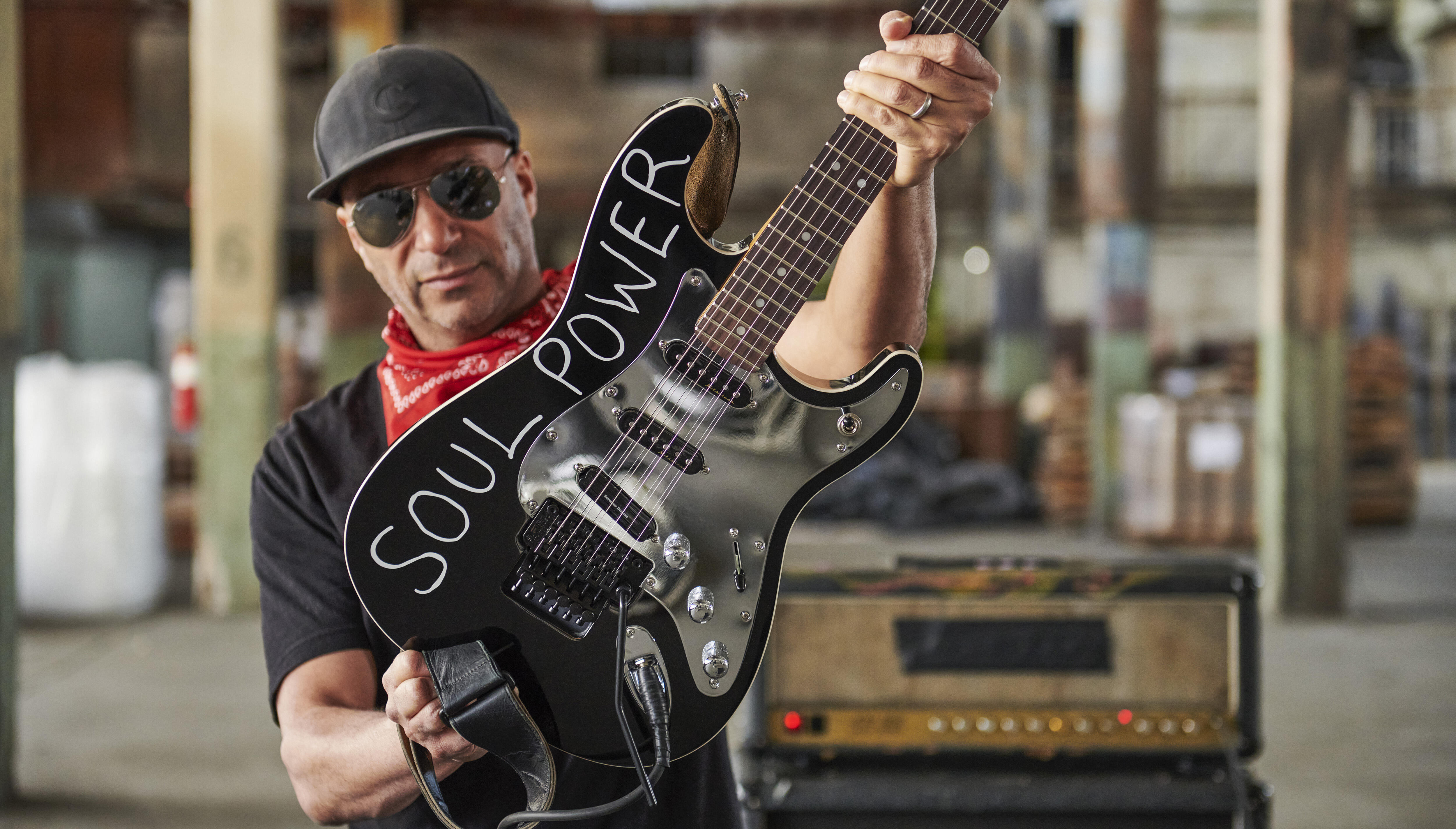 The Whole Truth Behind Tom Morello's 'Soul Power' Audioslave Guitar | iHeartRadio