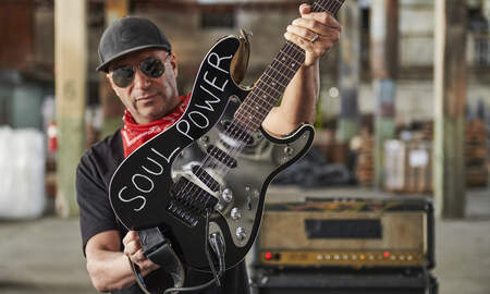 image for The Whole Truth Behind Tom Morello's 'Soul Power' Audioslave Guitar