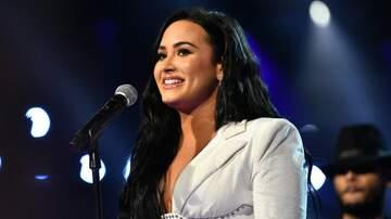 image for Demi Lovato Talks Quarantine Calls With Ariana Grande And Even Bill Clinton