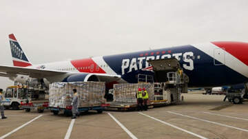 image for New England Patriots Use Team Plane To Fly In 1.2 Million Protective Masks