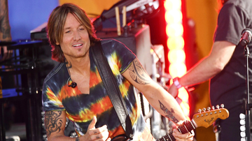 image for Keith Urban Finds The Light In New 'God Whispered Your Name' Video