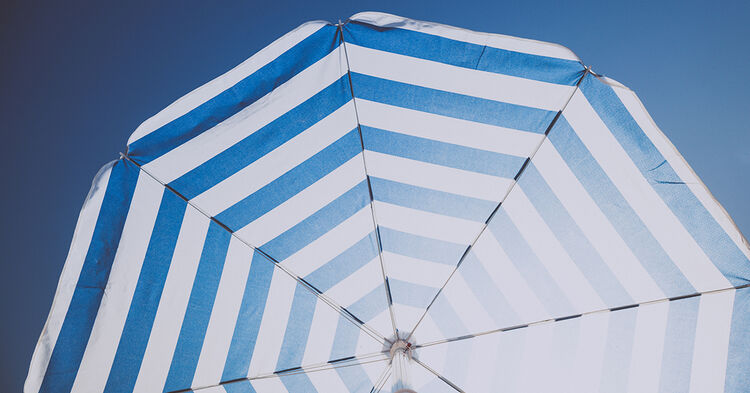 beach umbrella summer