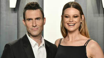 image for Adam Levine Jokes Wife Would Punch Him If He Asked For Another Baby