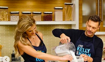 image for Shayna Shares With Seacrest & Team How to Make Nut Milk at Home