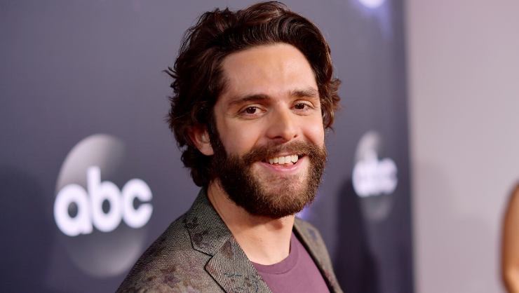 Thomas Rhett Shaved His Beard And Fans Are Freaking Out