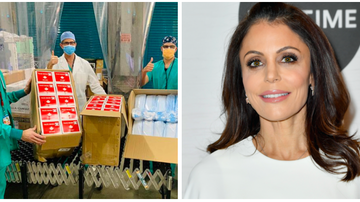 image for Bethenny Frankel Explains How BStrong Initiative Is Tackling COVID-19
