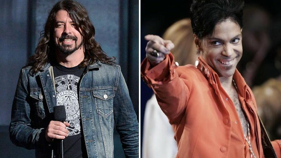 Dave Grohl Reminisces About Jamming With Prince In An Empty Arena