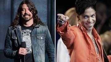 image for Dave Grohl Reminisces About Jamming With Prince In An Empty Arena
