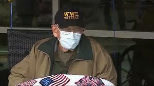 Oregon veteran survives coronavirus, celebrates 104th birthday   Suzette   Johnjay and Rich