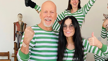 image for Exes Bruce Willis & Demi Moore Have Been Quarantined Together For 4 Weeks