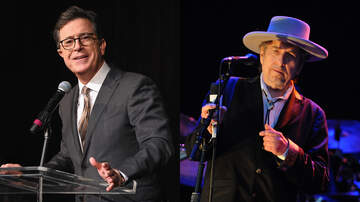 image for Stephen Colbert Offers A Taste Of Song Parody Bob Dylan Shot Down